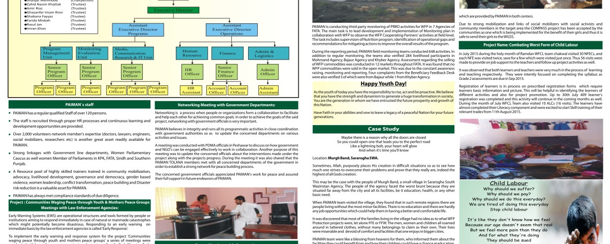 2Pager NewsLetter
