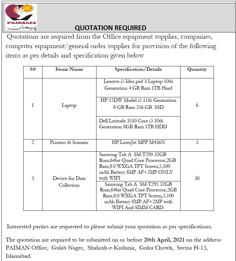 Quotation Required
