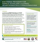 Exchange Program for Female Scholors (Ulemas)